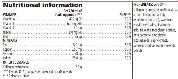 collagen skin booster ingredients