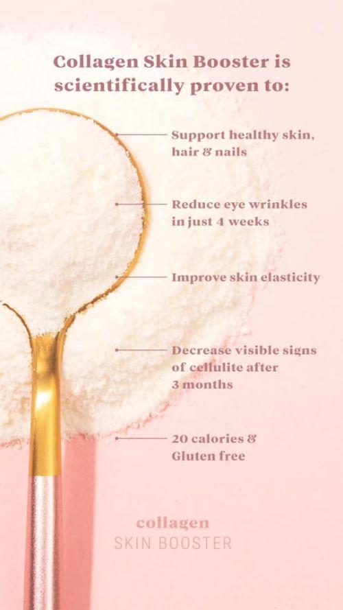 benefits collagen skin booster